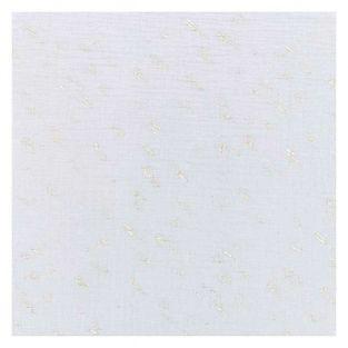 Cotton double gauze fabric 50 x 130...