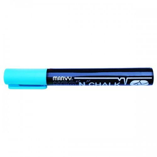 Marqueur-craie 6 mm - Bleu