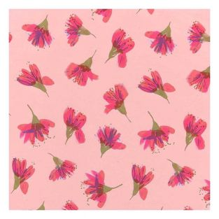 Cherry blossom fabric coupon 50 x 140...