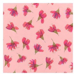 Coupon de tissu fleurs de cerisier 50...