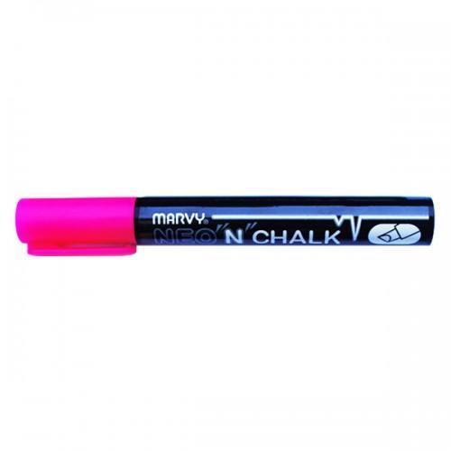 Marcador de tiza liquida 6 mm - Rosa