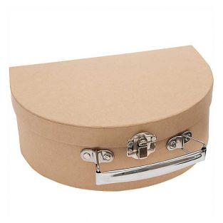 Large semi-circular cardboard case to...