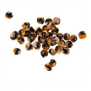 40 pompones acrílicos - Acid Leo