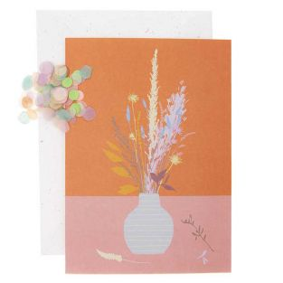 DIY Personalise your floral card -...