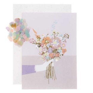 DIY Personalise your floral card - Bunch