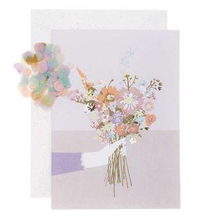 DIY Personaliza tu tarjeta floral - Ramo