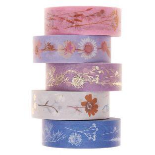 5 masking tapes 1,5 cm x 10 m - Dry...