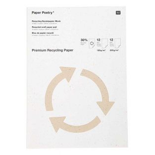 A4 Recycled Craft Paper Pad