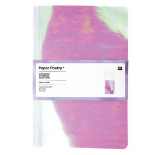 Notepad A5 40 pages - Chrome