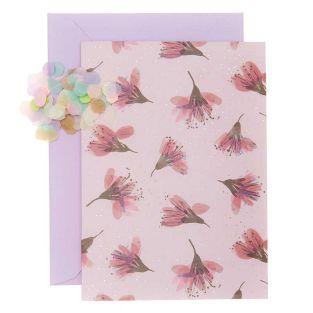 DIY Personaliza tu tarjeta floral -...