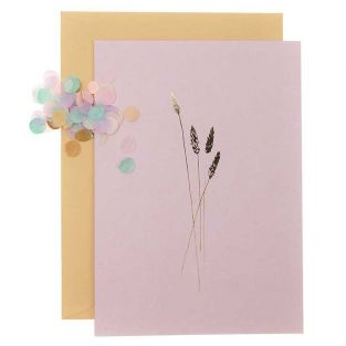 DIY Personalise your floral card - Pink