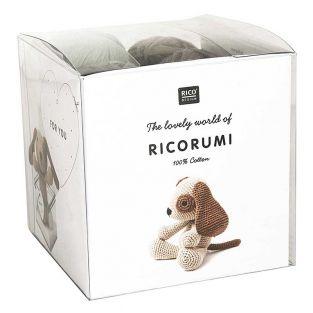 Set crochet Amigurumi Chien - Ricorumi