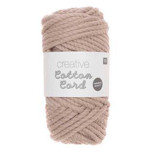 Corda di cotone 25 m - Rosa pastello