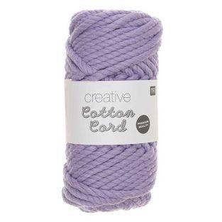 Cuerda de algodón 25 m - Lila