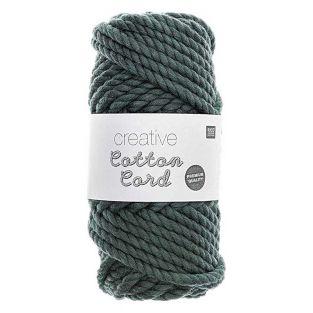Cotton rope 25 m - Petrol green