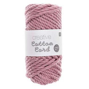 Corda di cotone 25 m - Rosa antico