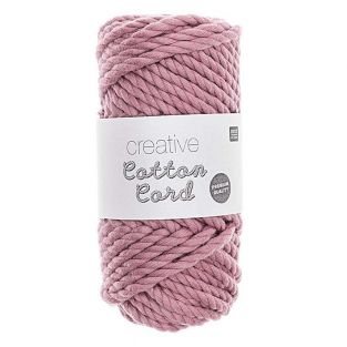 Cuerda de algodón 25 m - Rosa viejo