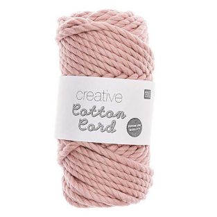 Pelote de corde en coton 25 m - Rose...
