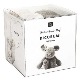 Set crochet Amigurumi Lapin - Ricorumi