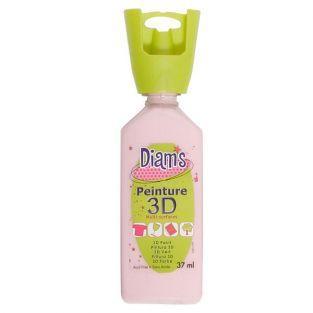 Peinture Diam's 3D - Rose - Brillant