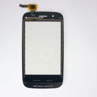 Touchscreen + adhesive for Wiko Ozzy - black