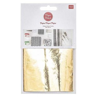 Paper patch shiny gold 30 x 42 cm