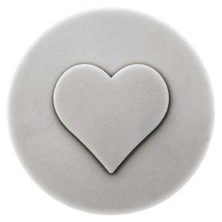 Molde de jabón de corazón termoformado
