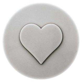 Thermoformed heart soap mould