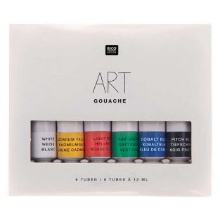 Set peinture gouache - Couleurs...