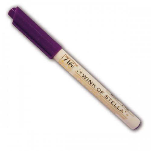 Purple glitter marker