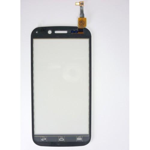 Vitre écran tactile blanc + adhésif pré-installé pour Wiko Stairway