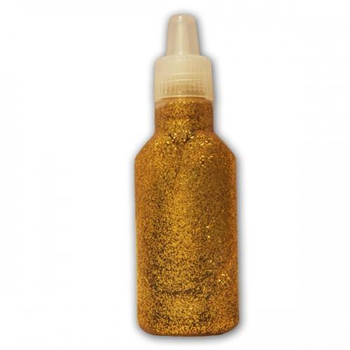 Golden Glitter glue