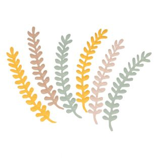 6 paper ferns - Slow Life