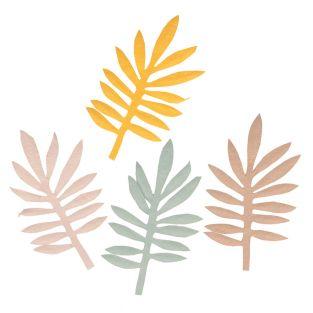 4 hojas de zumaque de papel - Slow Life