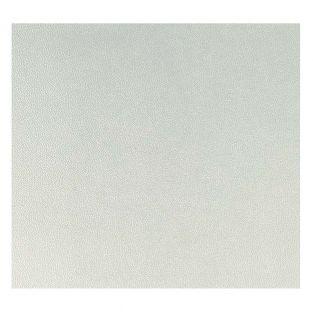 Silber Kunstleder Blatt 30 x 30 cm
