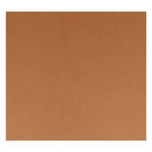 Kupfer Kunstleder Blatt 30 x 30 cm