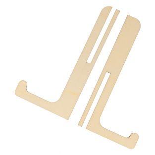 Mini chevalet de table en bois 7 x 14 cm