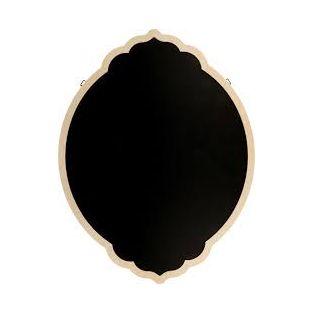 Lavagna nera barocca con bordo in...