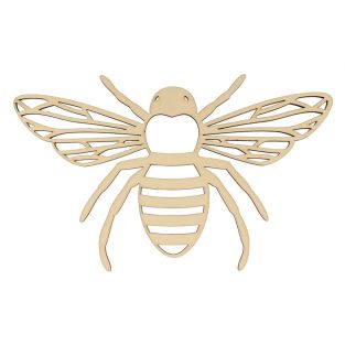 Bee wooden decoration