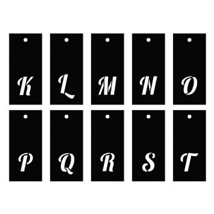 Plantillas alfabeto 70 motivos -...