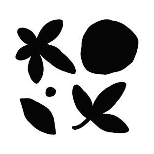 Stanzschablonen - Slow Life Blumen