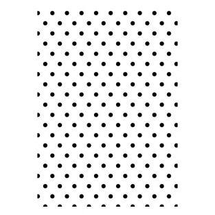 Plantilla estampadora con puntos