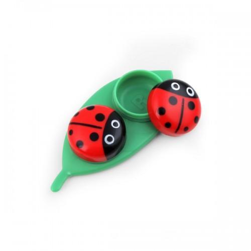 Contact lens case Ladybug