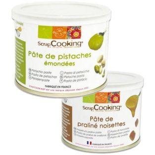 Pistachio paste 200 g + Hazelnuts...
