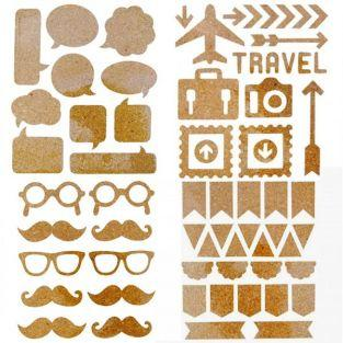Cork Stickers kit