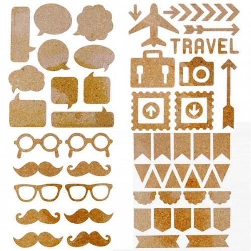 Cork Stickers kit