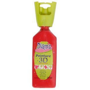Peinture Diams 3D - Brillant Rouge Profond