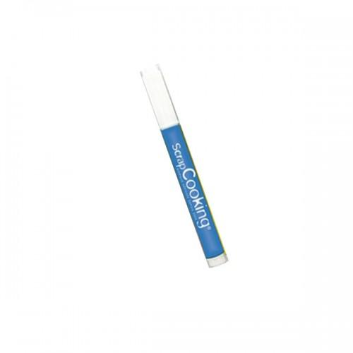 Mini Rotulador alimentario - Azul