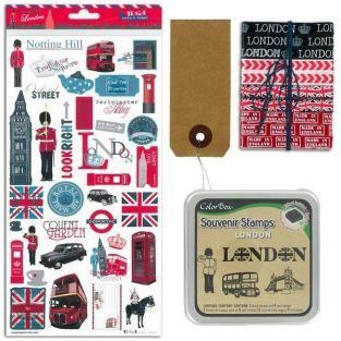 London scrapbooking kit