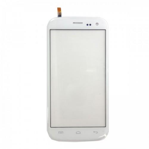 Touchscreen + adhesive for Wiko Darknight - white